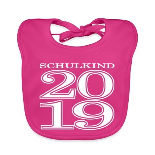 Schulkind 2019 - Baby Bio-Lätzchen