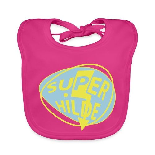 superhilde - Baby Bio-Lätzchen