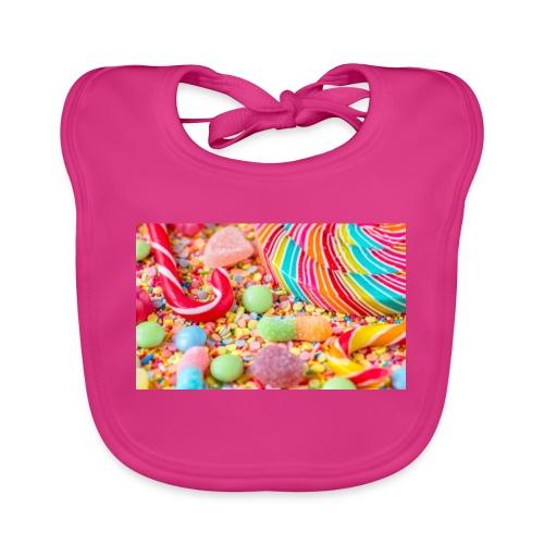 snoep afdruk/print - Bio-slabbetje voor baby's