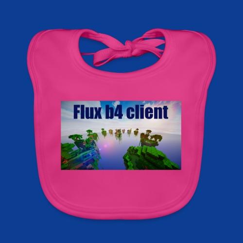 Flux b4 client Shirt - Baby Organic Bib