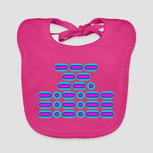 OMG!!! (pink/blue) - Baby Organic Bib