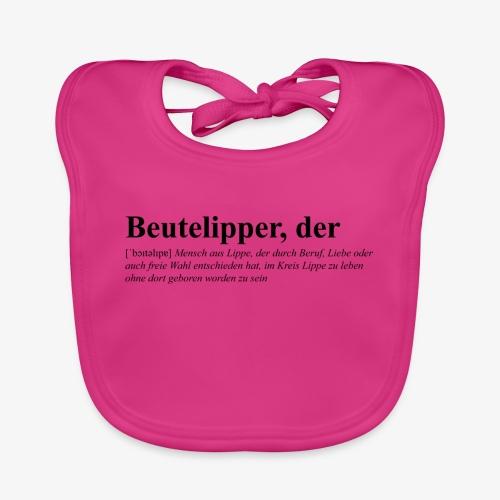Beutelipper - Wörterbuch - Baby Bio-Lätzchen