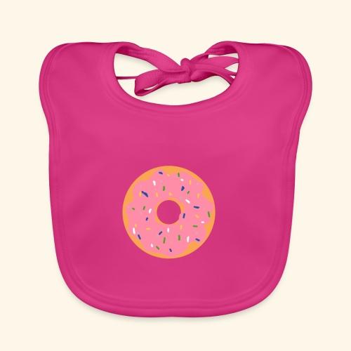 Donut-Shirt - Baby Bio-Lätzchen