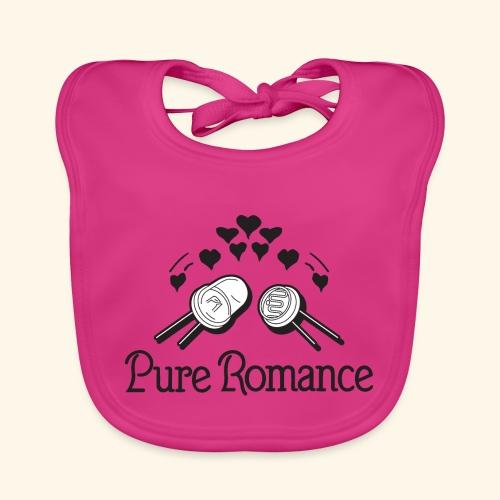 Pure Romance - Vauvan luomuruokalappu