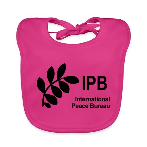 International Peace Bureau IPB Logo black - Organic Baby Bibs