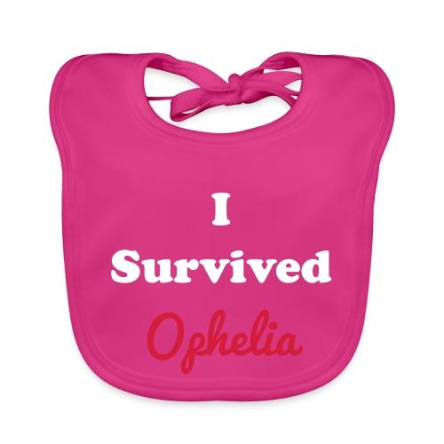 IsurvivedOpheliaWhitered - Baby Organic Bib