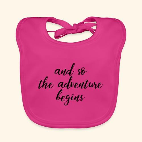 Adventure - Abenteuer - Baby Bio-Lätzchen