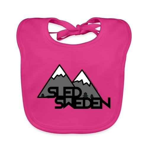 SledSweden Official Logo - Ekologisk babyhaklapp