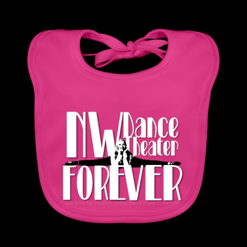 NW Dance Theater Forever [DANCE POWER COLLECTION] - Organic Baby Bibs