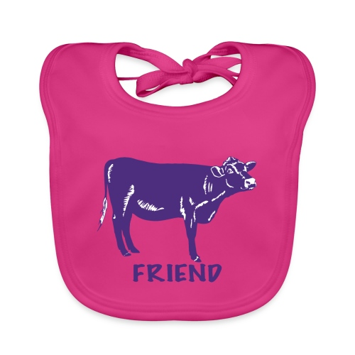 kids merch cow Rosie - Baby Organic Bib