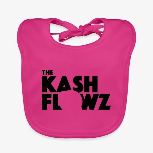 The Kash Flowz Official Black - Bavoir bio Bébé