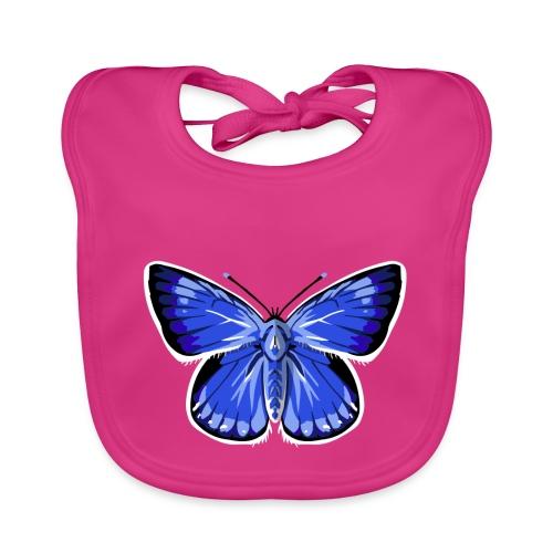 vlinder2_d - Bio-slabbetje voor baby's