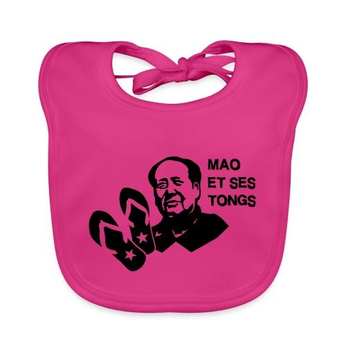 MAO et ses tongs - Bavoir bio Bébé