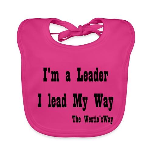 I lead My Way Black - Ekologiczny śliniaczek