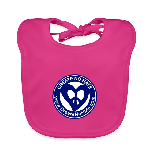 THIS IS THE BLUE CNH LOGO - Baby Organic Bib