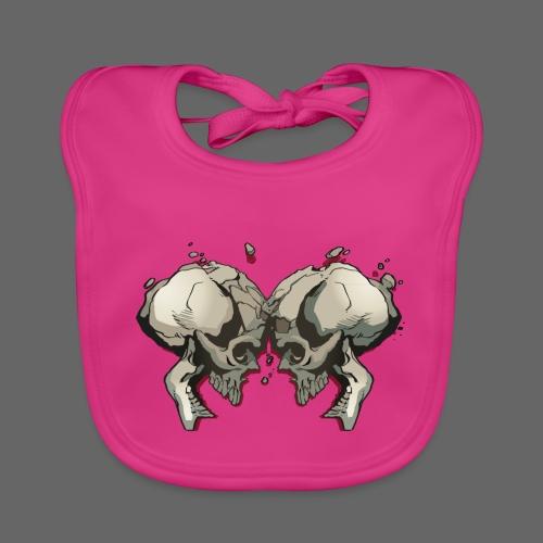 MHF_Logo_Loose-Skulls - Baby Organic Bib