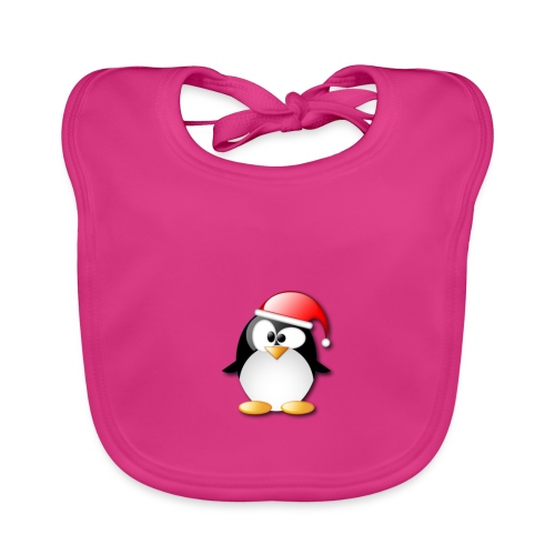 Mr Penguin - Baby Organic Bib