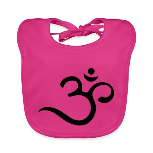 Om Mantra Symbol Yoga - Baby Bio-Lätzchen