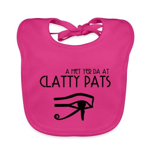 Clatty Pats - Organic Baby Bibs