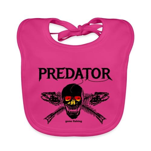 predator fishing / gone fishing - Baby Bio-Lätzchen