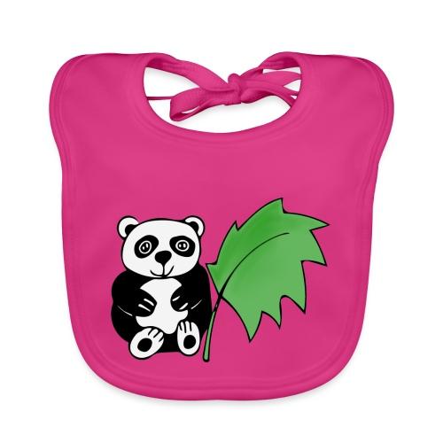 Panda - Bavaglino ecologico per neonato
