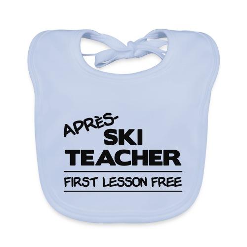 Apres ski teacher - Baby Bio-Lätzchen