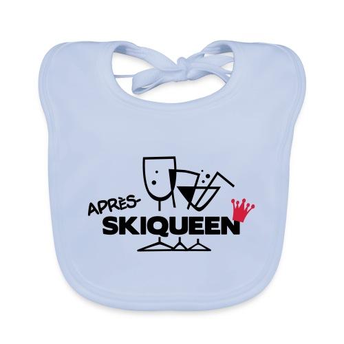 Apres Ski Queen - Baby Bio-Lätzchen