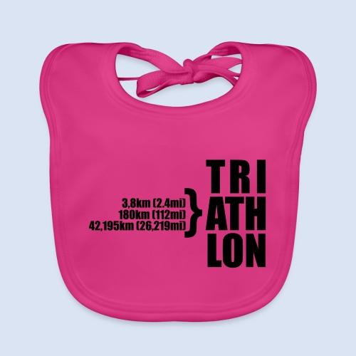 Triathlon Sport Distance - Baby Bio-Lätzchen