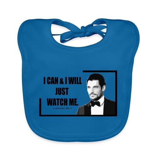 I can i will just watch me - Bavaglino ecologico per neonato