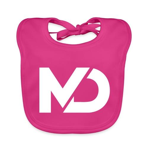 logo_wit - Bio-slabbetje voor baby's