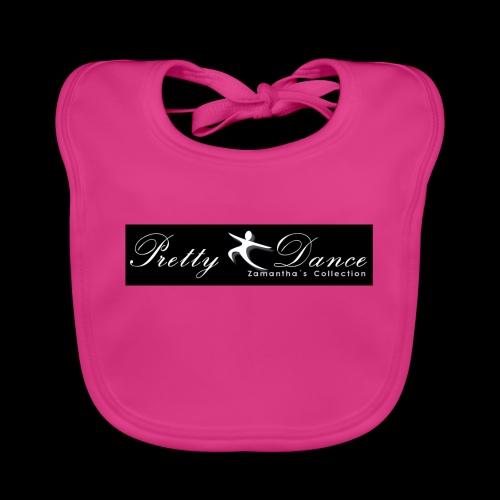 Pretty Dance - Babero de algodón orgánico para bebés