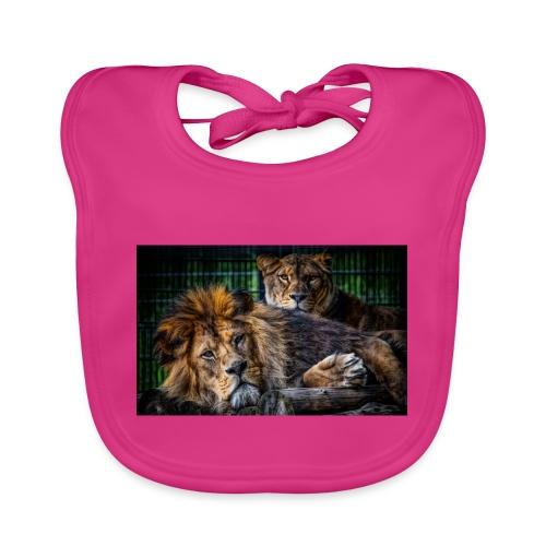 Löwen - Baby Bio-Lätzchen