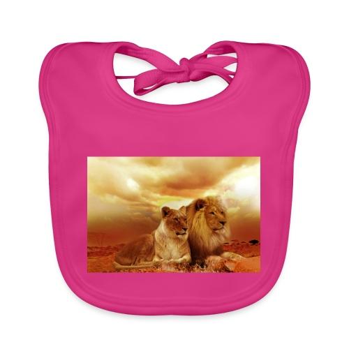 Löwen Lions - Baby Bio-Lätzchen
