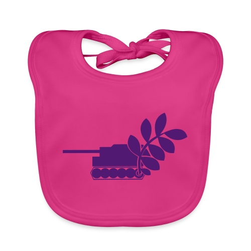Global Campaign on Military Spending Logo v2 - Organic Baby Bibs