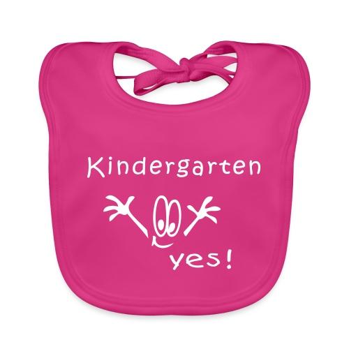 Kindergarten, Kita, Comic - Baby Bio-Lätzchen