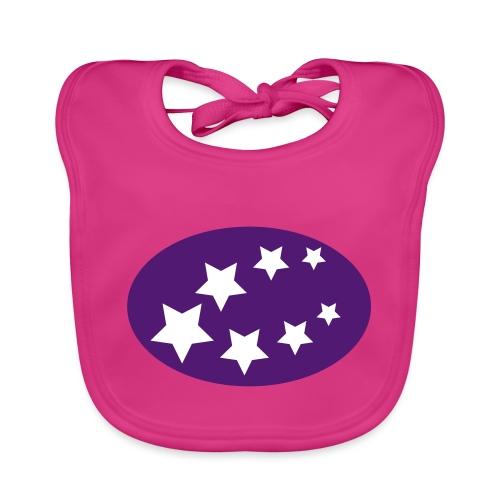 ster regen - Bio-slabbetje voor baby's