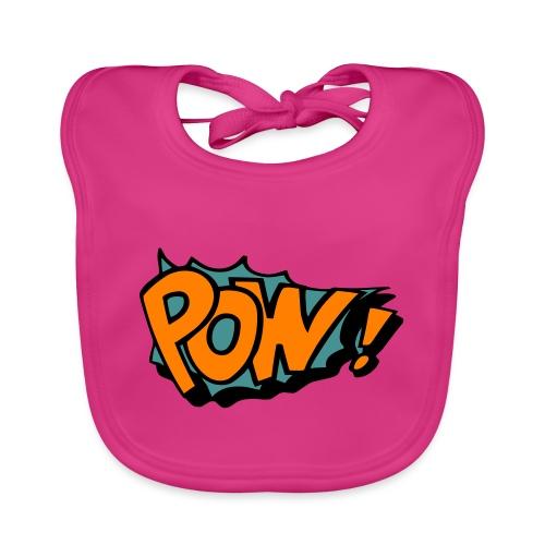 Comic pow! - Baby Organic Bib