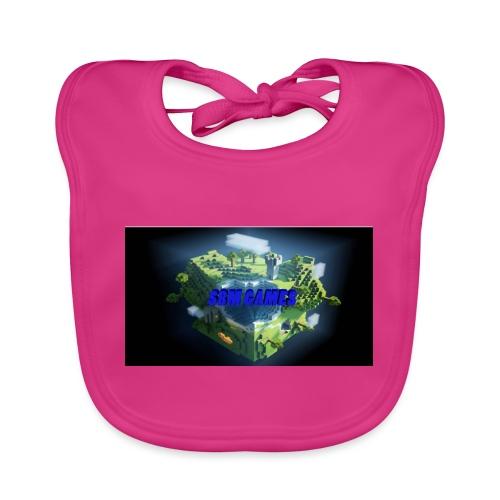 T-shirt SBM games - Bio-slabbetje voor baby's