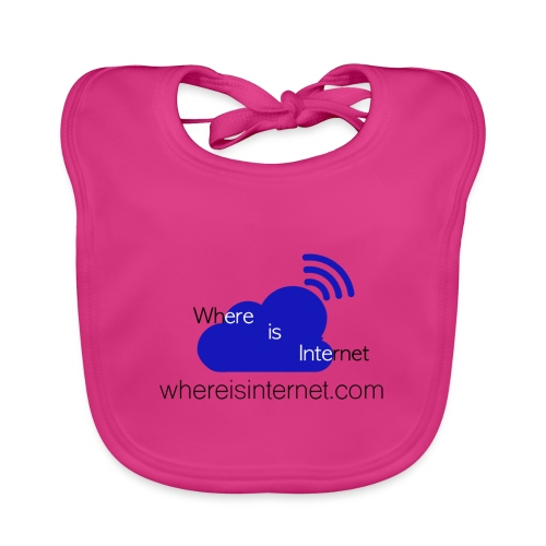 Where is the Internet - Baby Organic Bib
