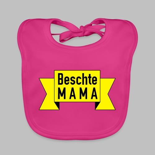 Beschte Mama - Auf Spruchband - Baby Bio-Lätzchen