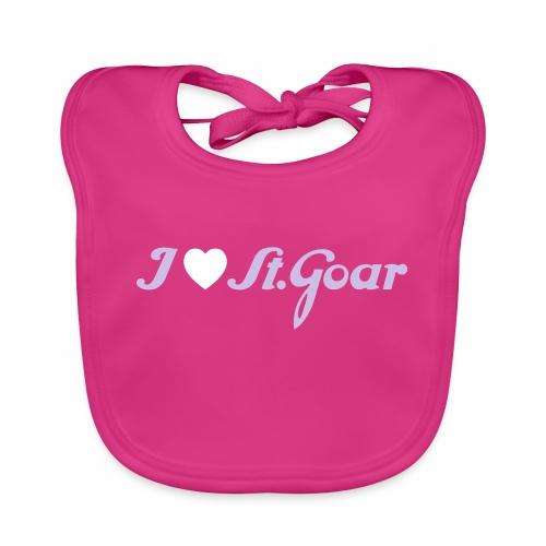 I Love St. Goar - Baby Bio-Lätzchen