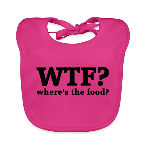 WTF - Where's the food? - Bio-slabbetje voor baby's