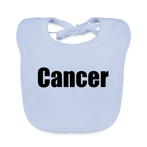 cancer - Baby Organic Bib