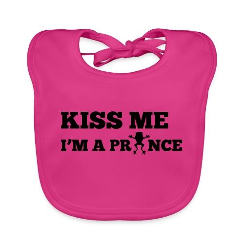 Kiss me, I'm a prince - Bio-slabbetje voor baby's