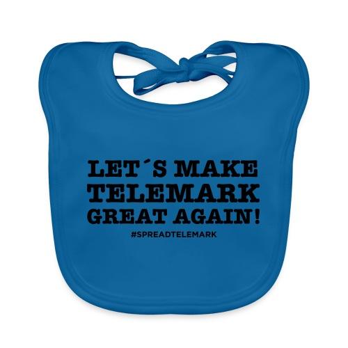 Let´s make telemark great again - Vauvan luomuruokalappu