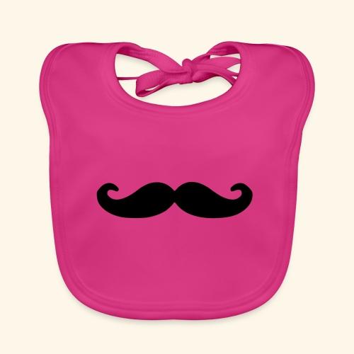 Loco Moustache - Bio-slabbetje voor baby's
