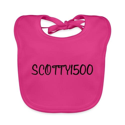 Scotty1500 Hoodie (White) - Organic Baby Bibs