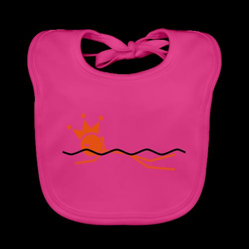 Zwemkoning - Bio-slabbetje voor baby's