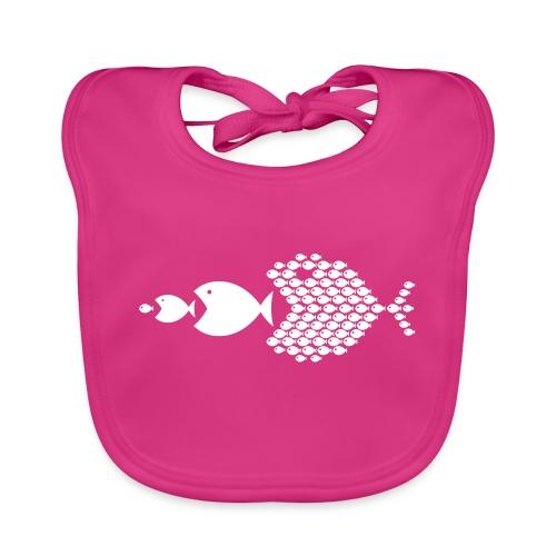 poissons mer vacances - Bavoir bio Bébé