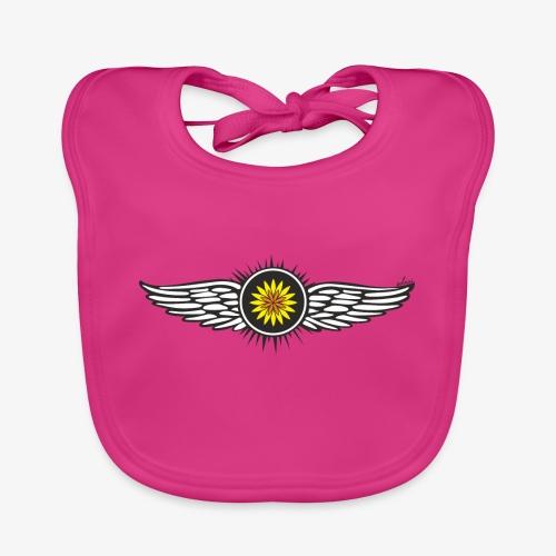 SOLRAC Wings - Babero de algodón orgánico para bebés